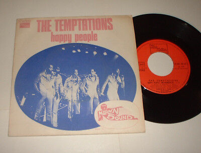 1974 France Temptations Happy People Tamla Motown 2C00496.143 Cover Record