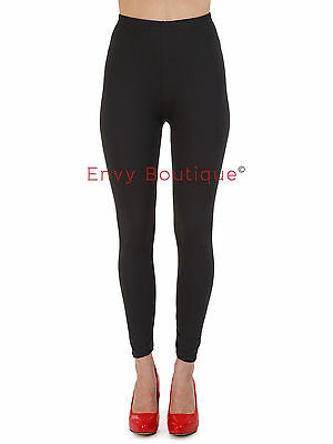 Ladies Womens High Waisted Leggings Full Length Seamless Slimming Shapewear