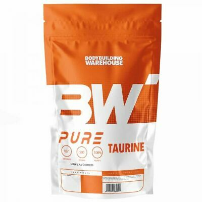 Pure Taurine Powder - 250G 500G 1Kg - Pump Pre-Workout Shake Drink Energy