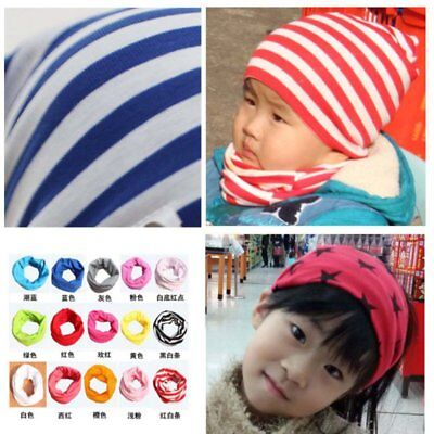 Baby Girls Boys Cotton Scarf Neckerchief Toddler Warm Neck Shawl Scarves Unisex