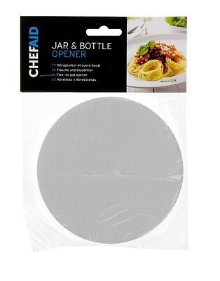 Rubber Jar And Bottle Opener, Non-Slip, Extra Grip, Lid Gripper By Chef Aid