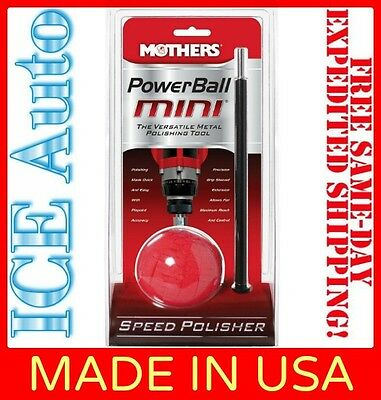 3-DAY SALE!! 05141 MOTHERS POWERBALL MINI Metal Polishing Tool