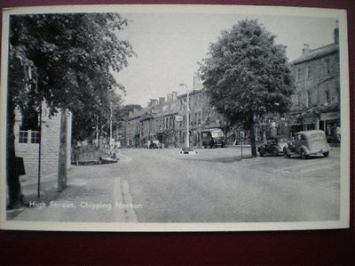 Postcard Rp Oxfordshire Chipping Norton - High Street