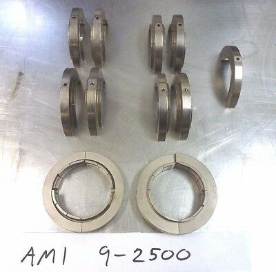 "AMI Orbital Welding Collets { Huge Lot } Weld head 9-2500  2"" inch"