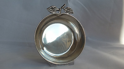 Solid Silver Fruit Shaped Dish Egyptian Fully hallmarked