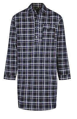 Mens Quality Traditional Nightshirt warm Brushed Cotton