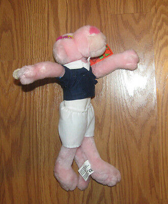 """plush PINK PANTHER 1999 11"""" with tag"""