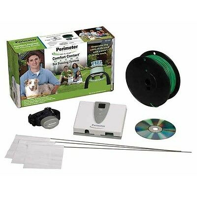 Perimeter Ultra Comfort Contact Pet Fence System  w/ 1000 FT. 16 G Wire PCC-200