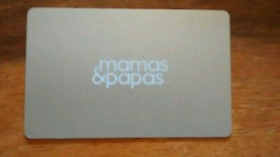 £19.50 Mamas and Papas Gift Voucher/ Gift Card