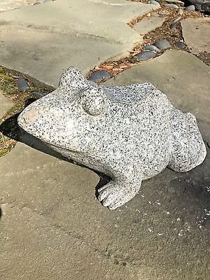 Japanese garden carved granite Frog pond water stone Koi pond