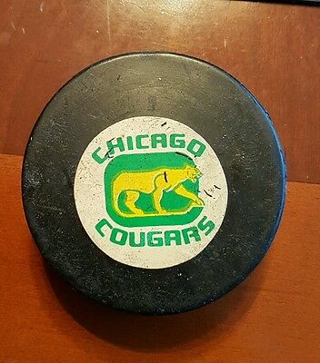 Chicago Cougars WHA Rubber Crested