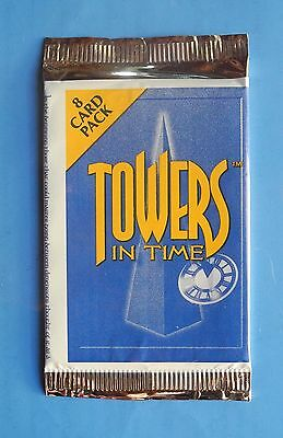 Towers in Time CCG TCG Card Booster Pack NEW SEALED Ltd Ed Game