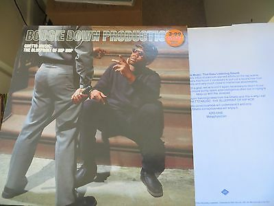 Boogie Down Productions/ Ghetto Music: The Blue Print Of Hip Hop Lp / Krs One