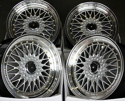 """16"""" Dare Rs Gs Alloy Wheels Fits 5X100 Audi Vw Crysler Seat Skoda Toyota"""