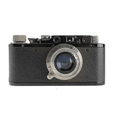 Leica II Camera with 5cm f2.5 Hektor Lens