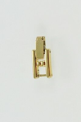 Fossil Women's Stainless Steel Gold Watch Band Extension Link Clasp Buckle