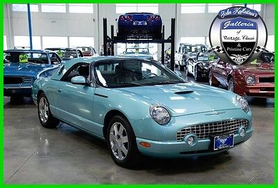 2002 Ford Thunderbird Premium 2002 Ford Thunderbird 3.9L V8 32V Automatic With Hardtop 1-Owner 02 03 04 05