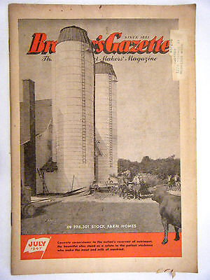Breeder's Gazette July 1947 Issue The Milk And Meat Makers' Magazine