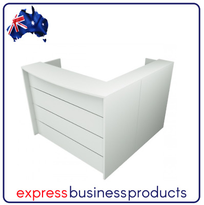 Ready 2 Go RD2 Office Reception Desk - Assorted Lengths - Two Colours Available