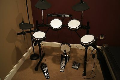 8in White TWIN PLY to convert Alesis DM5 PRO drum kit x 5 Pieces Mesh Heads