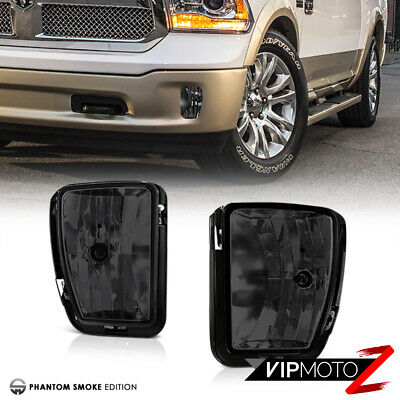 "2013-2017 RAM 1500 SLT Laramie Sport ""Titanium Smoke"" Fog Light Pair Replacement"