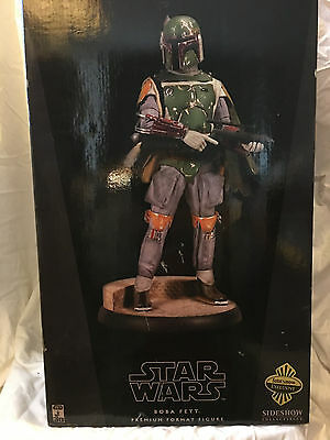 Sideshow Collectibles Premium Format Star Wars Boba Fett Format 1/4 Scale /2000