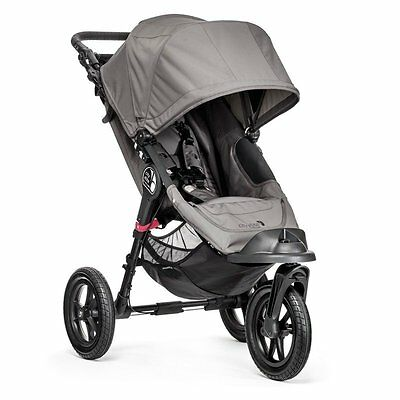 Baby Jogger City ELITE, Single Dreirad 3-Rad Sportwagen Grey