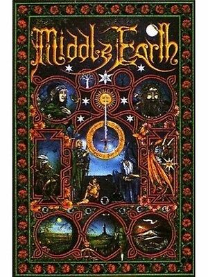 """The Lord Of The Rings Poster """"brand New"""" Middle Earth Artwork """"licensed"""""""