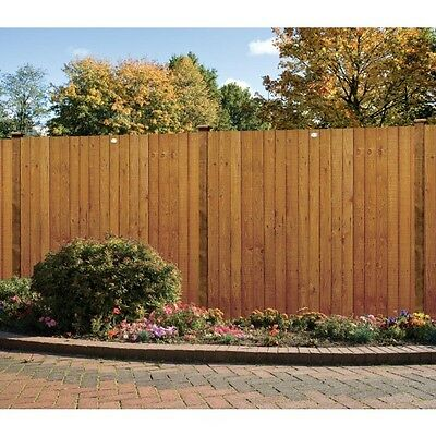 Grange 3ft High Wooden Standard Feather Edge Garden Fence Panel