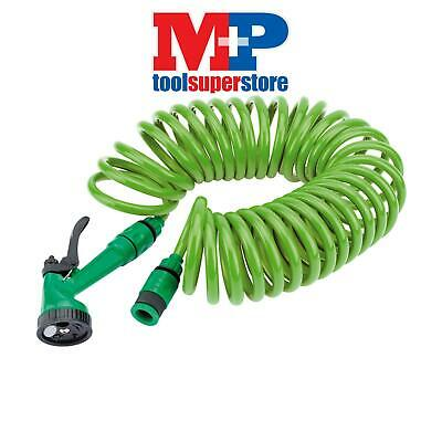 Draper 83984 10M Recoil Hose with Spray Gun and Tap Connector
