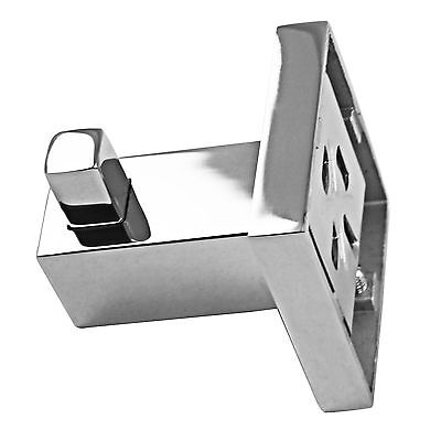 New Square Robe Towel Hook Holder Stainless Steel Kitchen Accessory Door Hanger