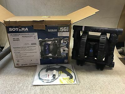 "Sotera Air Operated Diaphragm Pump, Sp100 Series, 1"" Aluminum, New- In Box"
