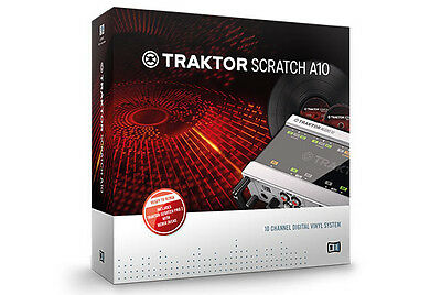 Native Instruments Traktor Scratch A10 (see description)