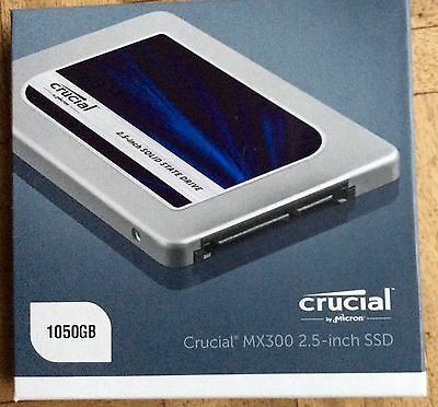 "Crucial MX300 2.5"" 1TB SATA III Solid State Drive"
