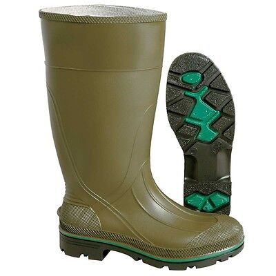 "Men's Servus by Honeywell Olive 15"" Max Rubber Boots - 75120"