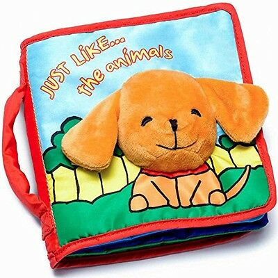tobereadyforlife® Soft Cover Book for Babies & Toddlers | Durable Fabric, FREE S