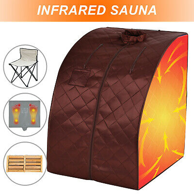 2L Home Steam Sauna Spa Portable Full Body Slimming Loss Weight Detox Therapy