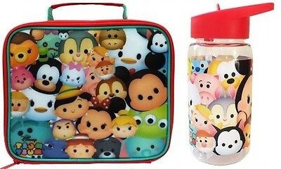 Official Licensed Product Tsum Tsum Lunch Bag & Tritan Water Bottle GIft Fun New