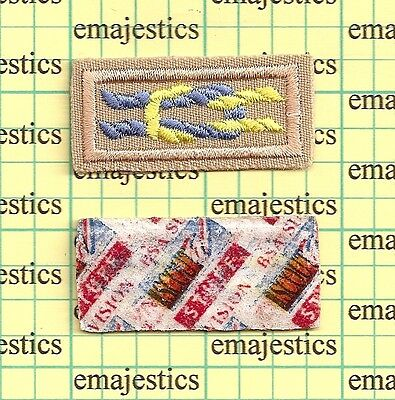 Bsa Medal Of Merit Award Square Knot Patch Mint White Scout Stuff Back