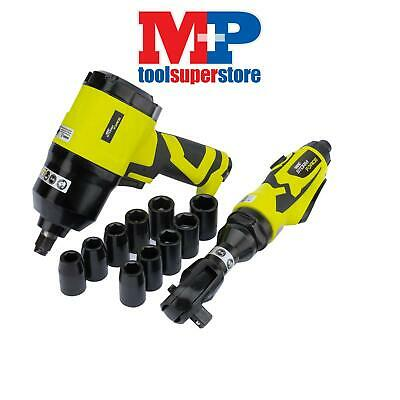 "Draper 83423 Storm Force® Composite 1/2"" Air Ratchet and Impact Wrench Kit"