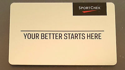 Sport Chek Gift Card - $150 Mail Delivery