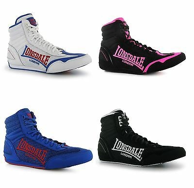 Lonsdale Contender Boxing Boots Men Trainers Sneakers Gym Shoes