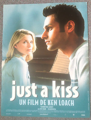 ORIGINAL FRENCH FILM POSTER JUST A KISS Dir: Ken Loach