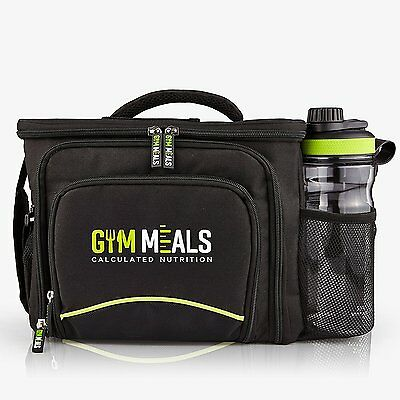 Meal Prep Gym Bag Sports - 6 Meals Capacity Management System Fitness Exercise