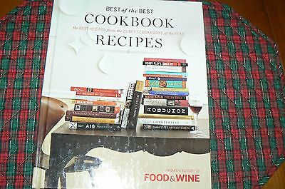Best of the Best Cookbook Recipes,hardcover, from Food and Wine