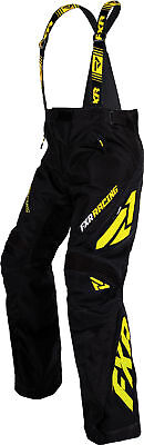 FXR Mens Black/Hi-Vis Snowmobile X System Pants Snocross