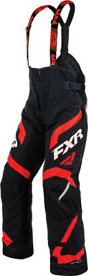 FXR Mens Black/Red Snowmobile Team FX Pants Snocross