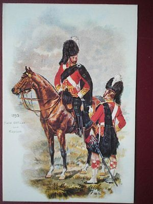 Postcard Field Officer & Captain Of The Argyll & Sutherland Highlanders