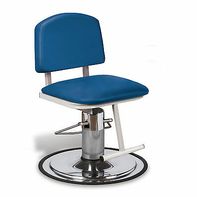 Armless Hydraulic Draw Chair - Royal Blue 1 ea