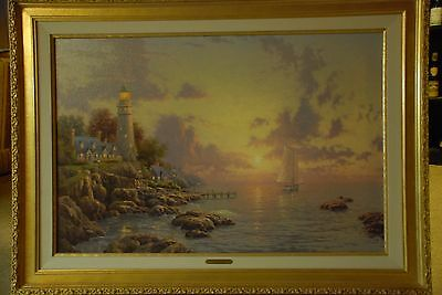 Thomas Kinkade Sea of Tranquility on canvas, gallery proof  84/2100.